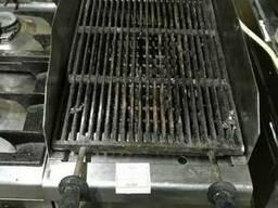 Плита газовая б/у с лавовым грилем профессиональная Zanussi - фото 4