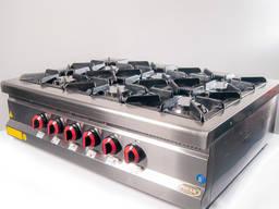 Плита газовая Пимак 70MX-6S настольная 6 горелок 30х38 см