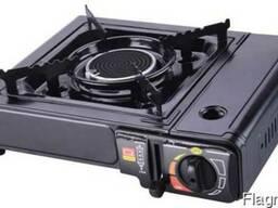 Плита газовая портативная с адаптером АМ 0001