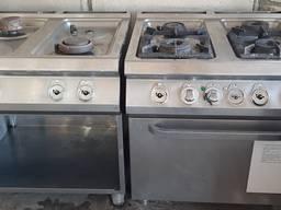 Плита газовая с духовкой печь