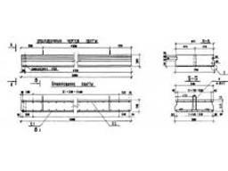 Плити мостовые (серія 3.503-41) П3-8 переходные