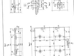 Плита мостовая П1-6 переходная