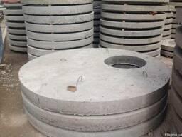 Плита перекрытия колодца (крышка колодца) 1ПП 20-2