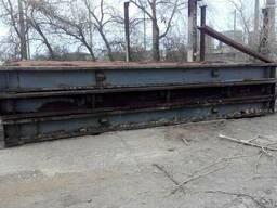 Плита перекрытия металлическая КП-6х3