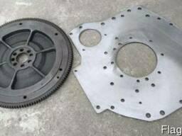 Плита под стартер (задний лист) МТЗ (Д-240/243/245), ГАЗ,МАЗ