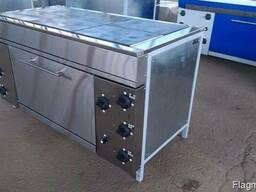 Плита промышленная с духовкой электрическая - фото 1