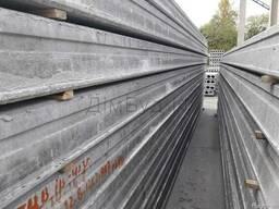 Плити перекриття бетонні пустотні (до 13,5м).