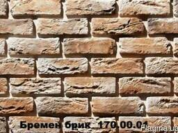 Плитка Бремен Брик для отделки фасадов и интерьеров