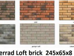 Плитка церрад Loft brick 245х65х8
