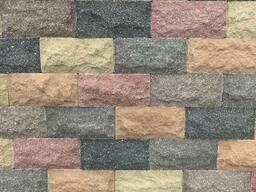 """Плитка цокольная """"Скала"""" плитка для цокаля. Плитка фасадная. Плитка рваный камень."""