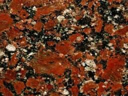 Плитка гранитная: капустинского месторождения.