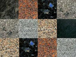 Плитка гранитная Разные цвета