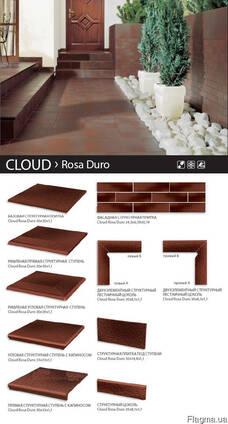 Плитка клинкер Ceramika Paradyz Cloud Rosa, Cloud Brown
