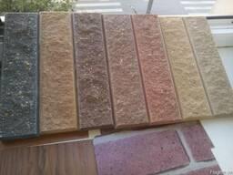 Плитка фасадная, облицовочная цокольная натуральный песчаник