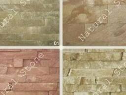 Плитка облицовочная из камня песчаника
