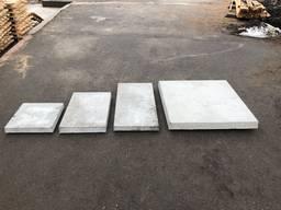 Плитка тротуарна бетонна (армована) різних розмірів
