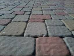 """Плитка тротуарная """"Старе місто""""6 см в цветовой гамме"""