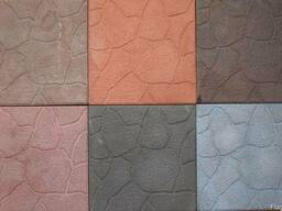 Плитка вибролитая 300х300х30 в ассортименте разные цвета