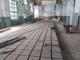 Плиты чугунные монтажные 1. 5х1. 5м. и 0. 72х1. 5м. Толщина 22см