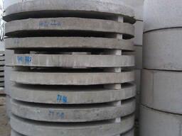 Плиты днища, дно для колец д 1, 1.5 и 2 м