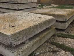 Плиты дорожные б/у 2м на 2м, толщина 20 см в Одессу по 470 грн/м2
