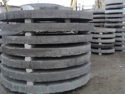 Плиты, крышки для колец д 1, 1.5 и 2 (простые и усиленные)