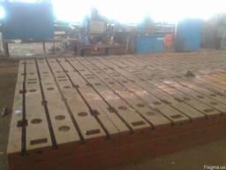 Плита монтажно-сборочная сварочная 4500x2100x350мм.
