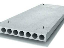 Плиты перекрытия ПК 15-12-8 многопустотные серийные