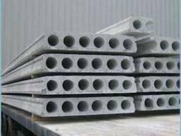 Плиты перекрытия пустотные 6000*1200 мм