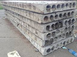 Плиты перекрытия, пустотные 6х1, 2 м. ; 6х1, 5 м. ; 5, 8х1, 2 м. ; 5, 8х1, 5 м.