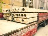 Плиты перекрытия пустотные б/у хорошего качества - фото 3