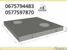 Плиты перекрытия тепловых камер (КП-2) (КП-3) (КП-4) (КП-5)