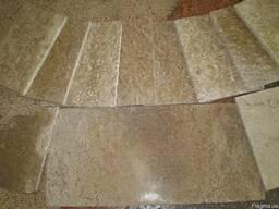 Плиты полированные из известняка, натуральный камень