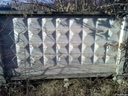 Плиты заборные б/у 6х2 м.