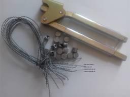 Пломбы свинцовые, комплекты (пломба проволока), пломбиратор