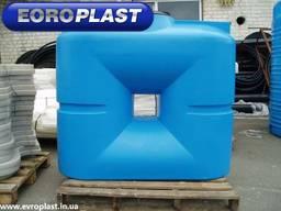Плоские квадратные баки для хранения воды