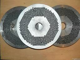 Плоские матрицы для грануляторов пеллеты и корма