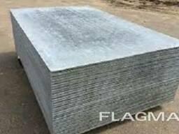 Плоский хризотилцементный шифер . 6мм *1750*1000