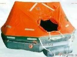 Плот спасательный надувной ПСН-16МК