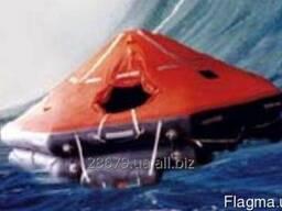Плот спасательный надувной ПСН-20МК