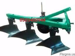 Плуг ПЛН 3-35 Высокая стойка полувинтовой отвал