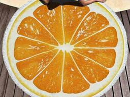 Пляжное полотенце Апельсин