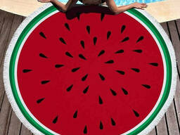 Пляжное полотенце Арбуз