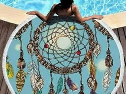 Пляжное полотенце/ коврик на пляж Ловец снов