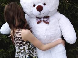 Плюшевый мишка MishkiRulyat Валентин 130 см белый