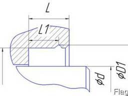 Уплотнения штока - манжеты тип Lspin, Lspi