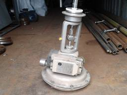 Пневмопривод с Электропневматический позиционер Samson тип 3767 (складские остатки)
