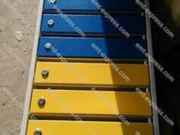 Почтовый ящик, 4-12 квартир, металлический. ЯПГА-04 08 10 12 - фото 4