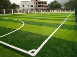 Под ключ спортивная площадка, футбольное поле из искусственн