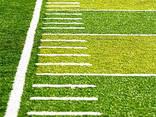Под ключ спортивная площадка, футбольное поле из искусственн - фото 2